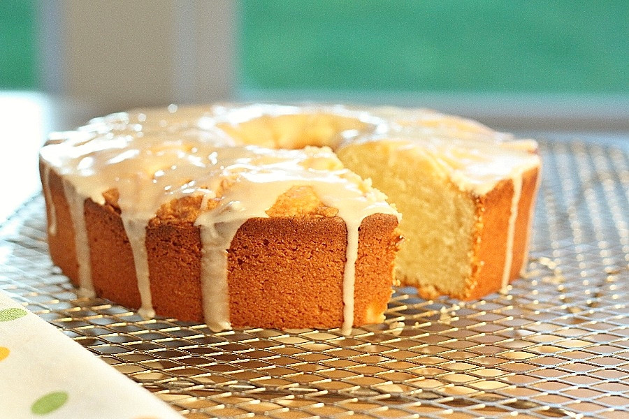 Grapefruit Pound Cake  Grapefruit Pound Cake – First Look Then Cook