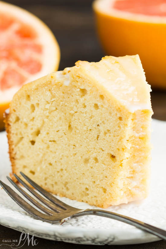 Grapefruit Pound Cake  Ruby Red Grapefruit Pound Cake Call Me PMc