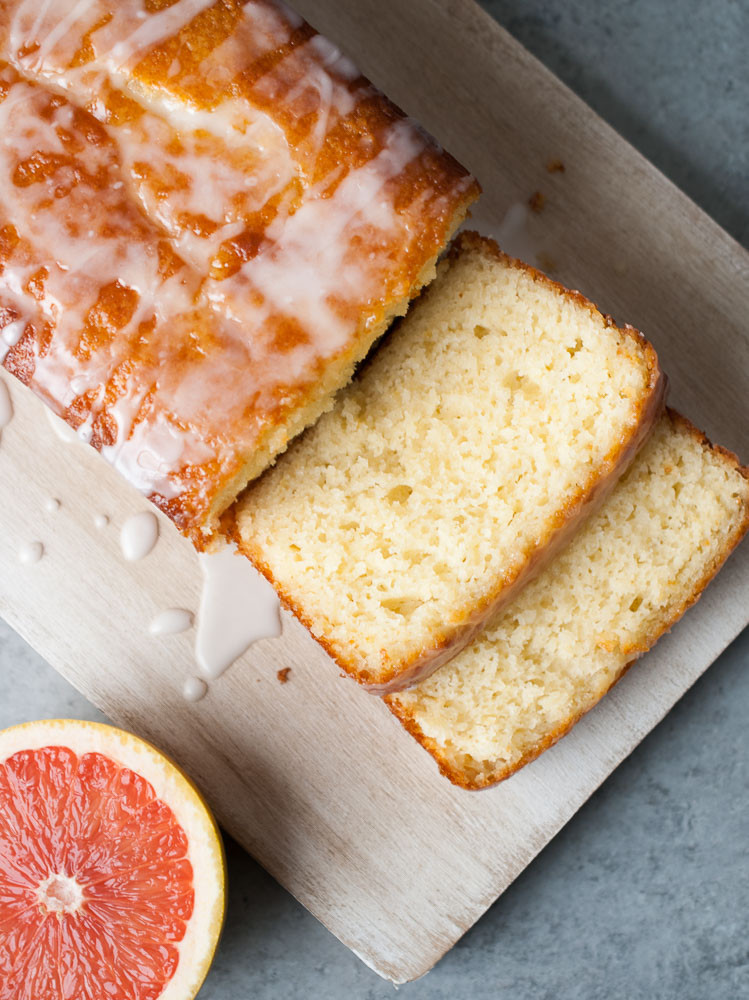 Grapefruit Pound Cake  Grapefruit Yogurt Cake