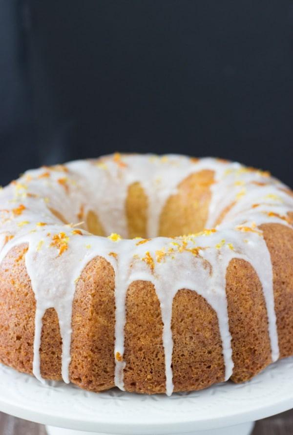 Grapefruit Pound Cake  Grapefruit Orange Pound Cake Blahnik Baker