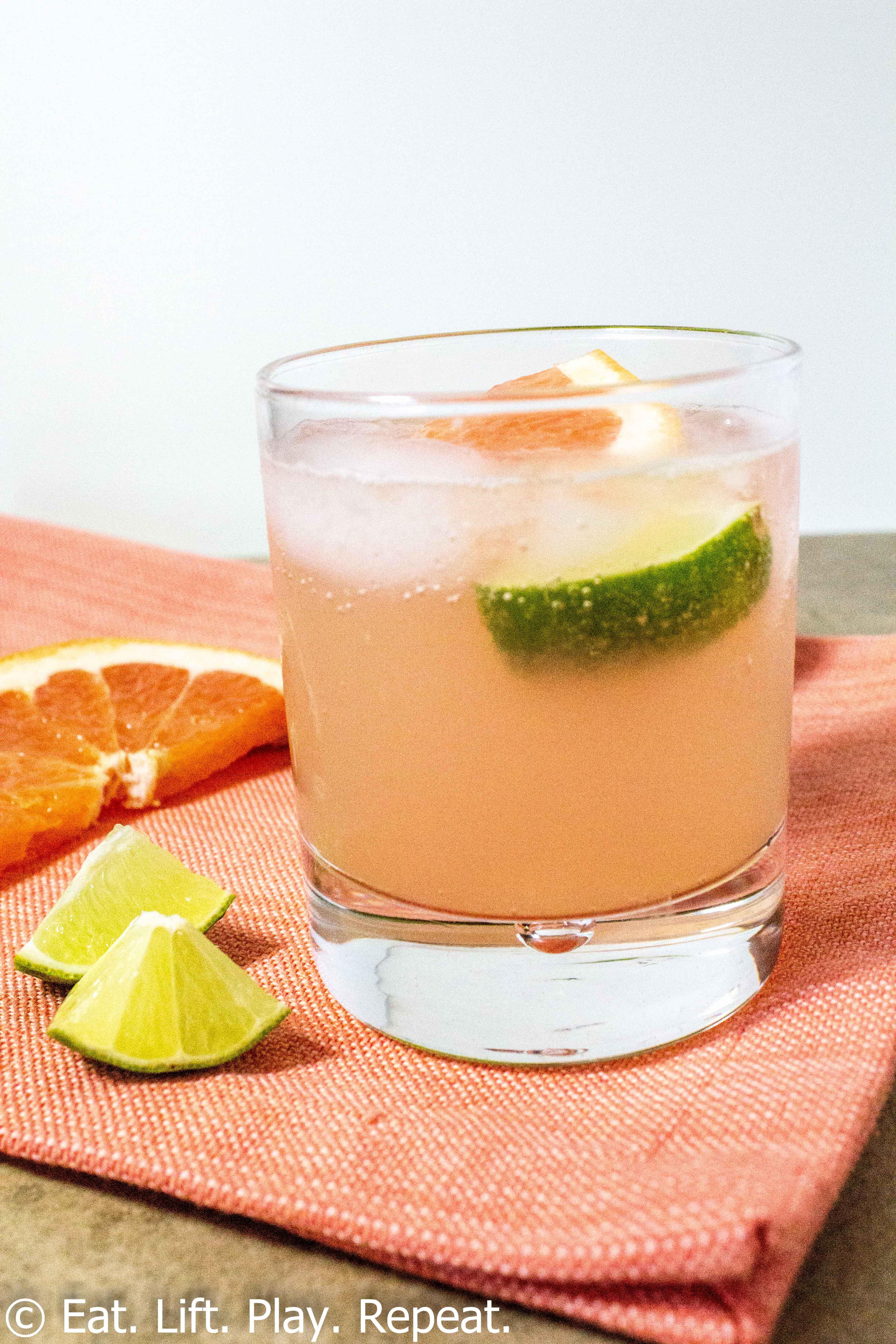 Grapefruit Vodka Drinks  Grapefruit Vodka Soda Eat Lift Play Repeat
