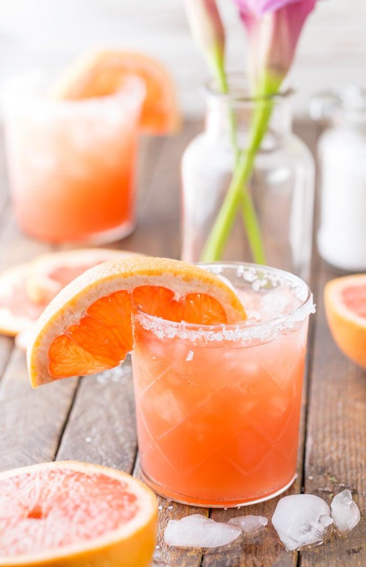 Grapefruit Vodka Drinks  Grapefruit Salty Dog