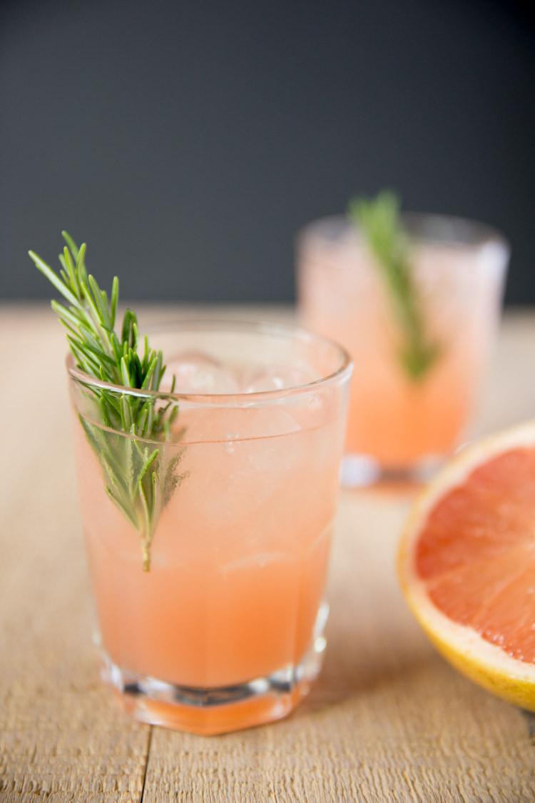 Grapefruit Vodka Drinks  Rosemary Greyhound Cocktail Tastes Lovely