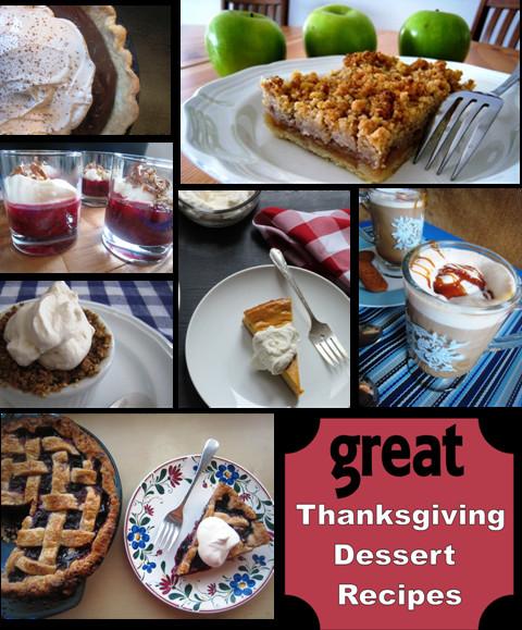 Great Dessert Recipes  Great Thanksgiving Dessert Recipes Good Cheap Eats