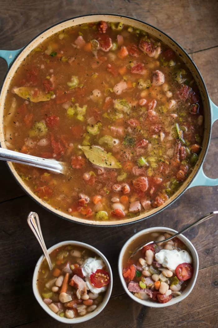 Great Northern Bean Recipes  Great Northern Bean Ham Soup Recipe Reluctant Entertainer