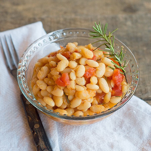 Great Northern Bean Recipes  Great Northern Beans with Tomatoes Never Enough Thyme