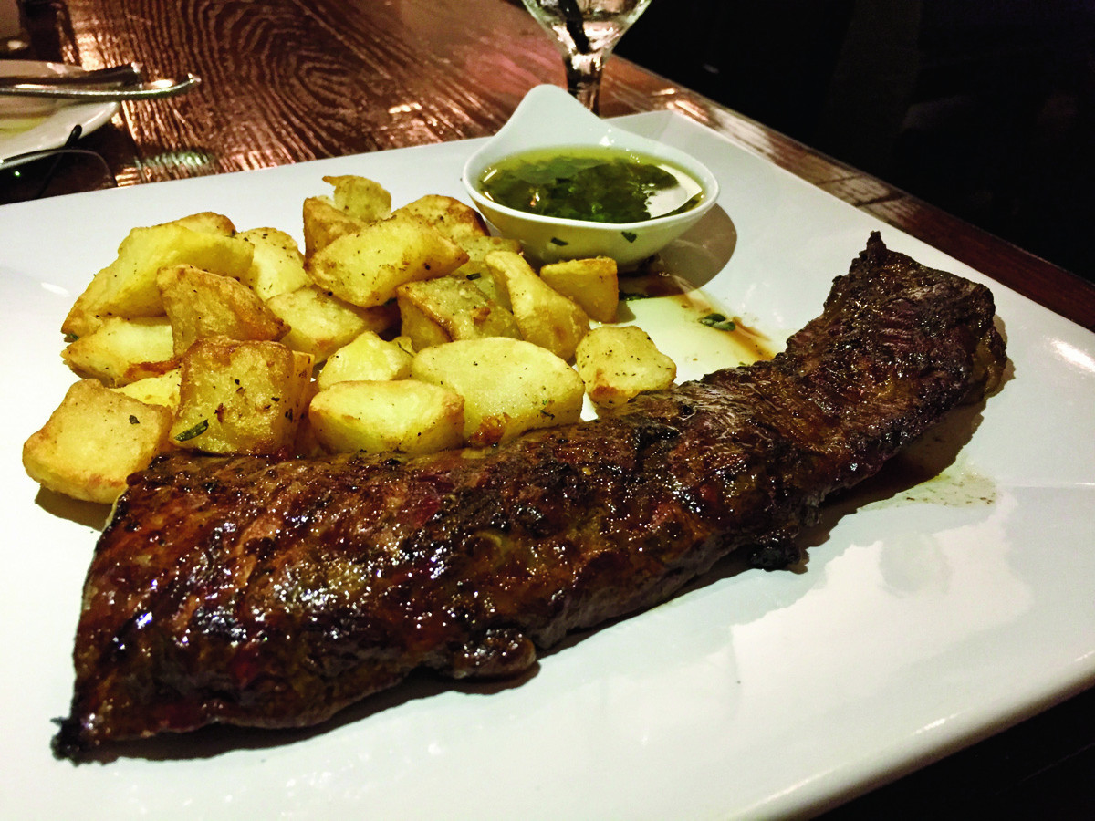 Great Steak And Potato  Cambalache in Fountain Valley Does a Great Steak and