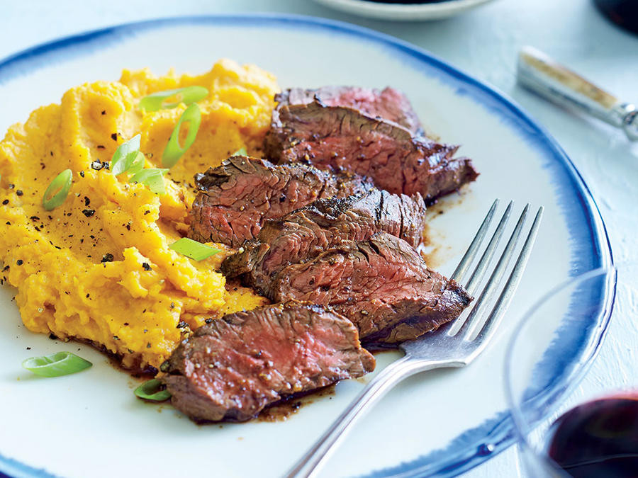Great Steak And Potato  Sunday Strategist A Week of Healthy Dinners — March 6 10
