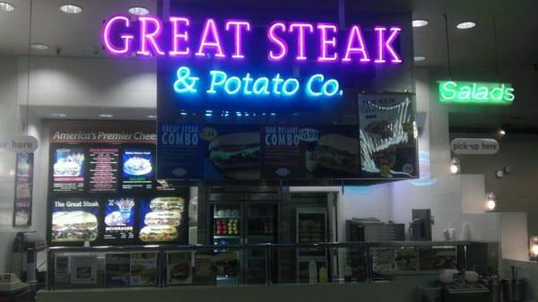 Great Steak And Potato  The Great Steak & Potato CLOSED Cheesesteaks 3601 S