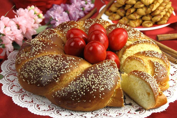 Greek Easter Bread  Greek Easter Bread Recipe Tsourekia