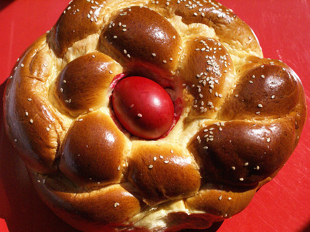 Greek Easter Bread  Easter Eggs Around The World Multicultural Kid Blogs