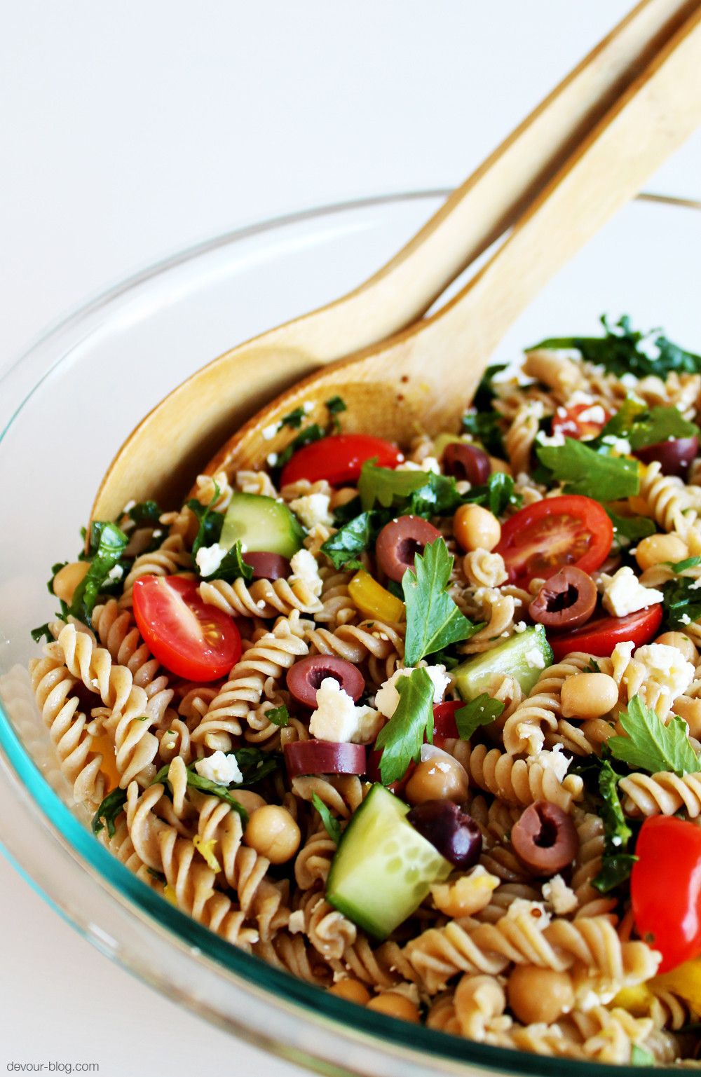 Greek Pasta Salad  Greek Pasta Salad