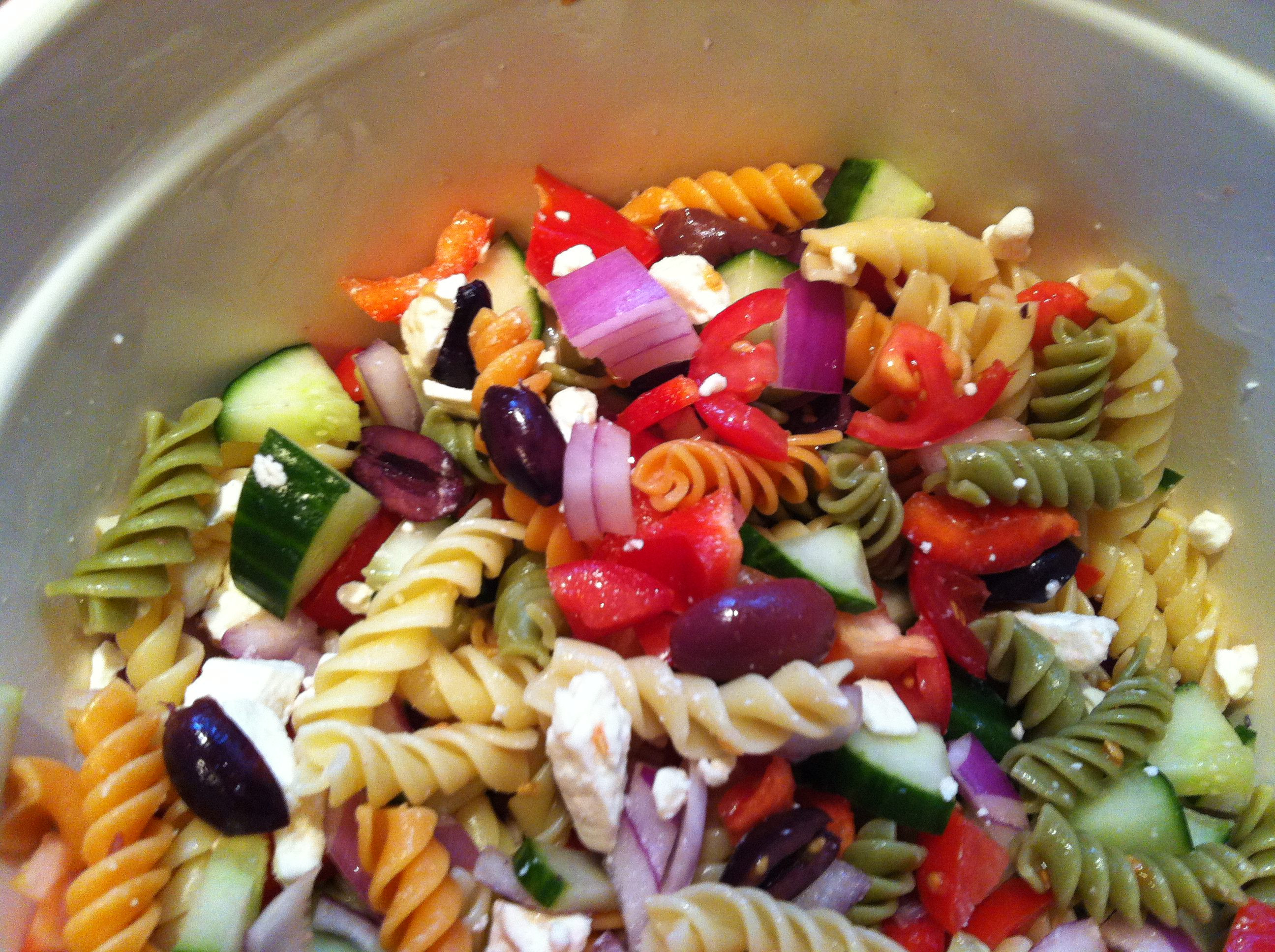 Greek Pasta Salad  Greek Pasta Salad Recipe A Cedar Spoon