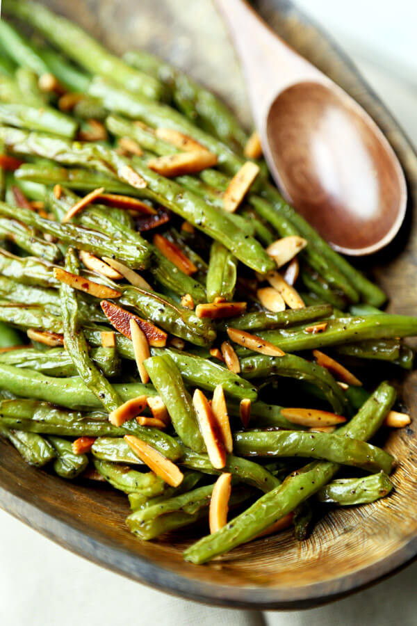 Green Bean Almonds Recipes  Broiled Green Beans Almondine Pickled Plum Food And Drinks