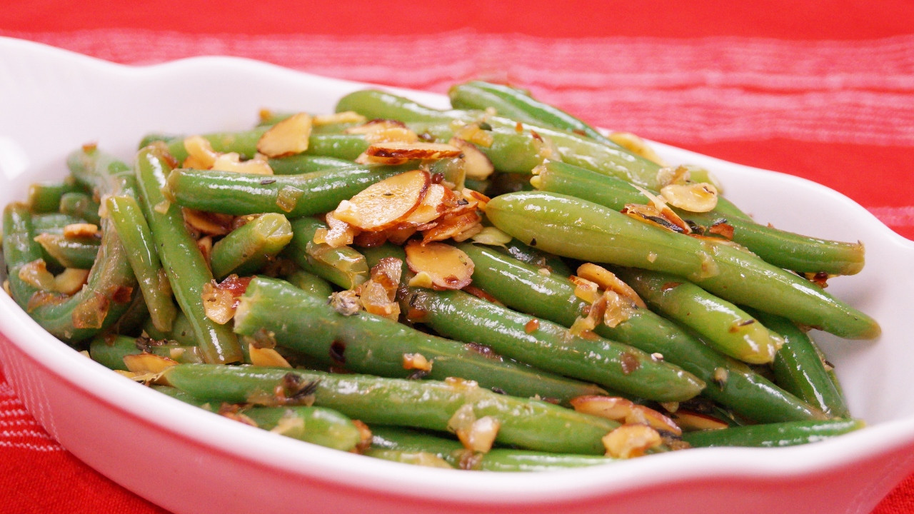 Green Bean Almonds Recipes  Green Bean Almondine