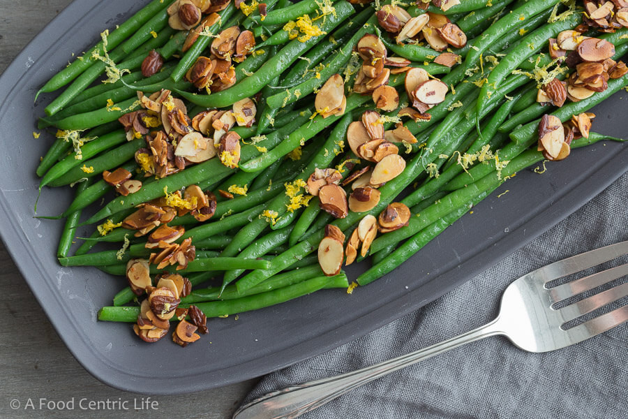 Green Bean Almonds Recipes  Green Beans Almondine A Foodcentric Life