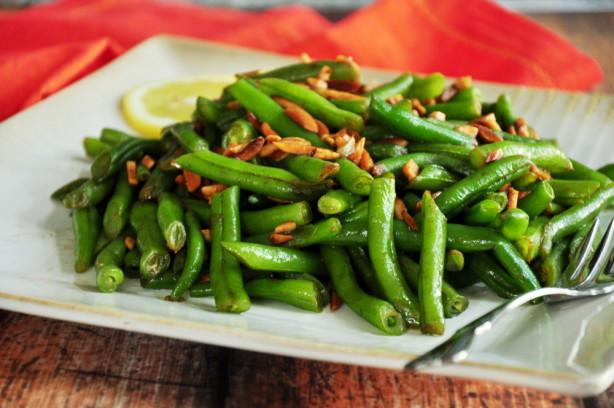 Green Bean Almonds Recipes  Green Beans Almondine Recipe Food