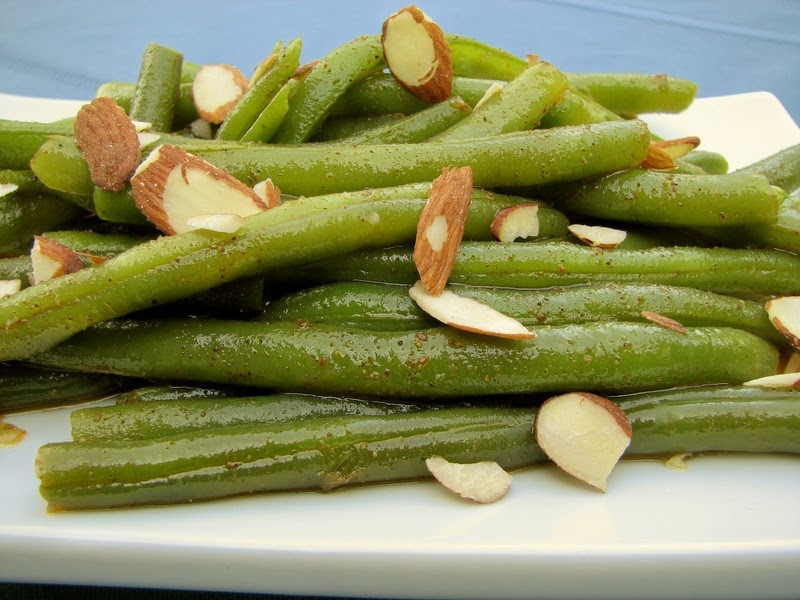 Green Bean Almonds Recipes  Cooking Tip of the Day Recipe Green Beans Almondine