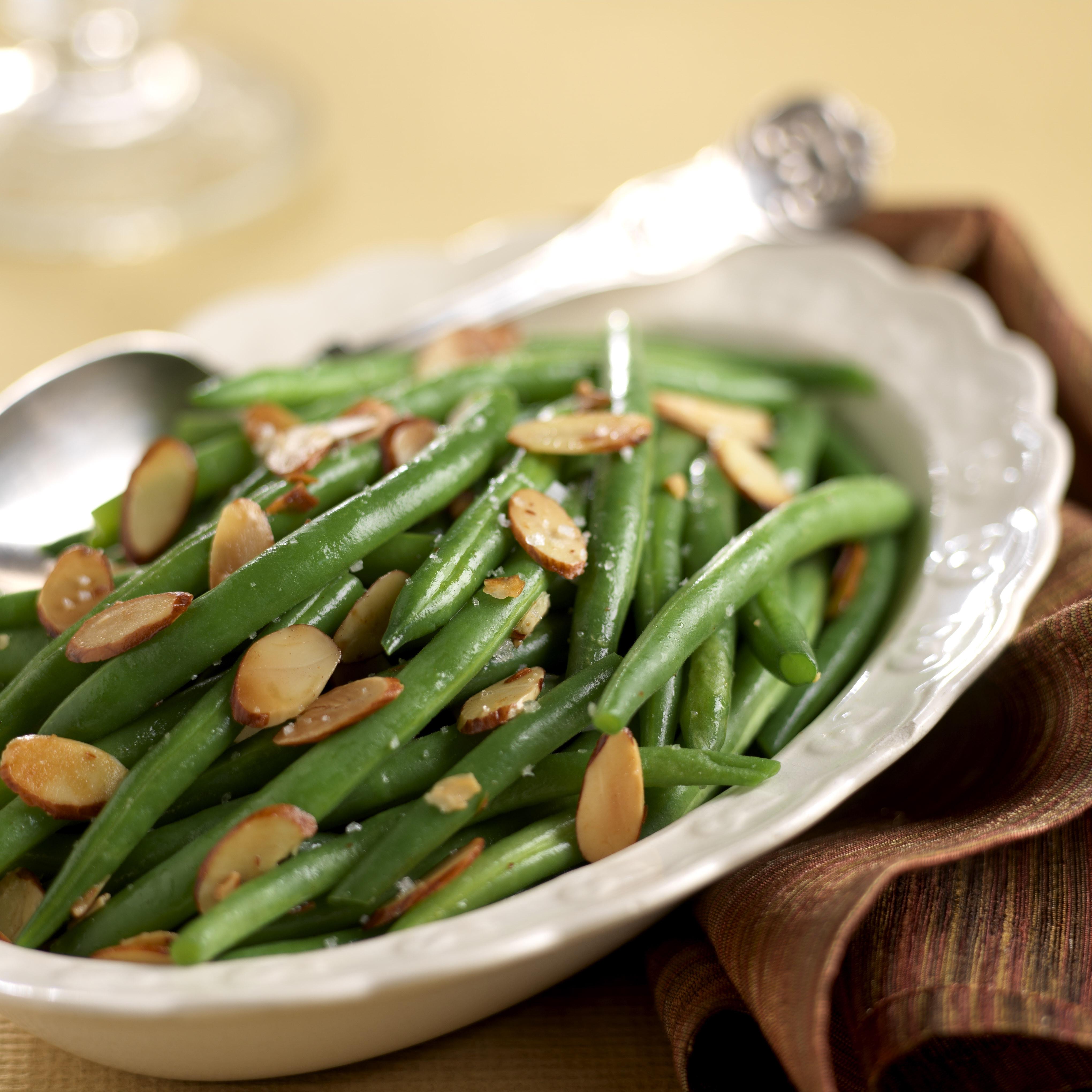 Green Bean Almonds Recipes  Classic Green Beans Almondine