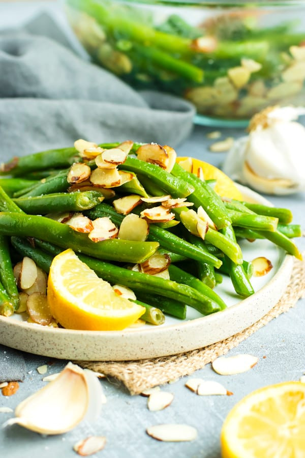 Green Bean Almonds Recipes  Easy Green Beans Almondine in 20 Minutes