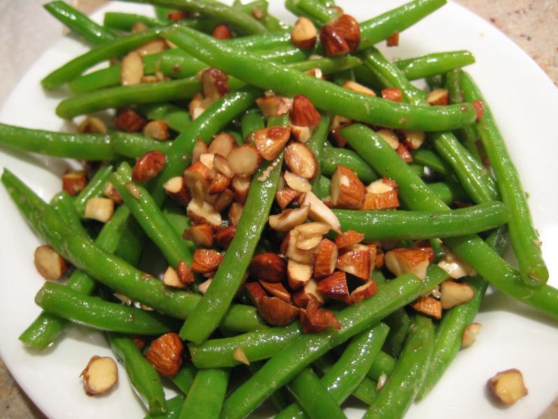 Green Bean Almonds Recipes  Green Beans Almondine