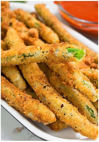 Green Bean Appetizer  Crispy Fried Green Beans CakeWhiz