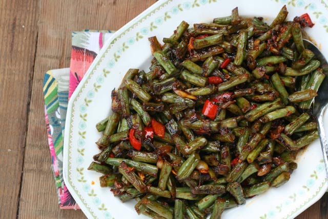 Green Bean Appetizer  Spicy Green Bean Appetizer Recipe – Cheap Recipe Blog