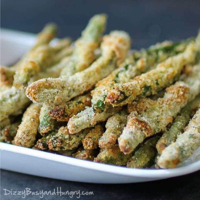 Green Bean Appetizer  Crispy Baked Green Bean Fries