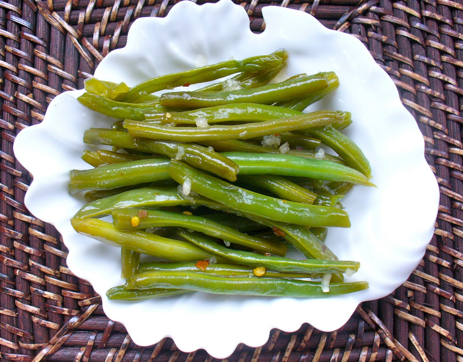 Green Bean Appetizer  penny dish easy healthy appetizer snappy green beans
