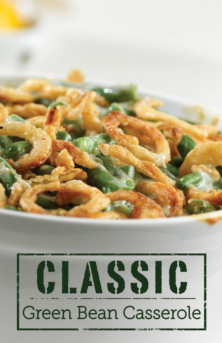 Green Bean Casserole Thanksgiving  Classic Green Bean Casserole Recipe