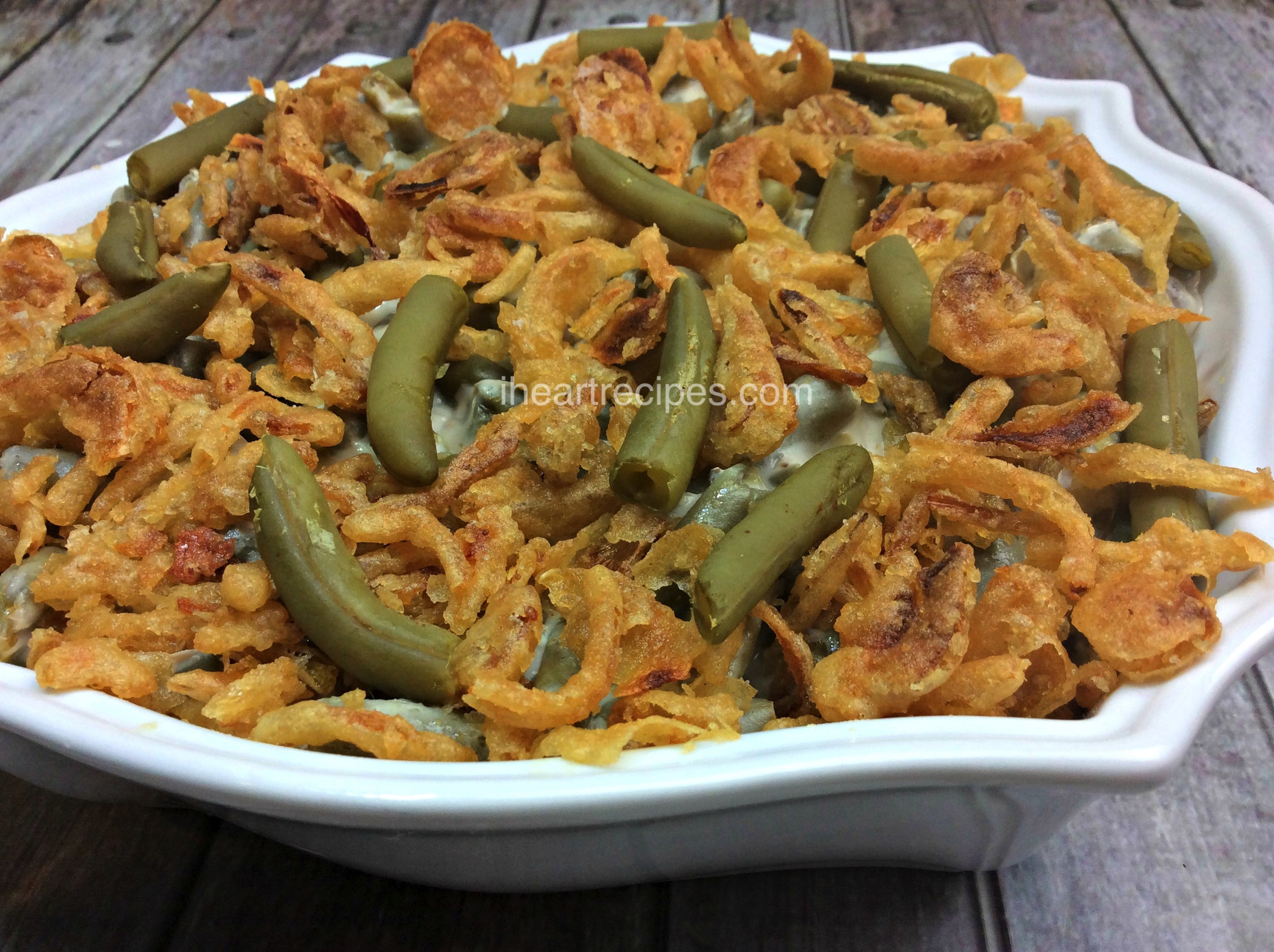 Green Bean Casserole With Canned Green Beans  frozen green bean casserole