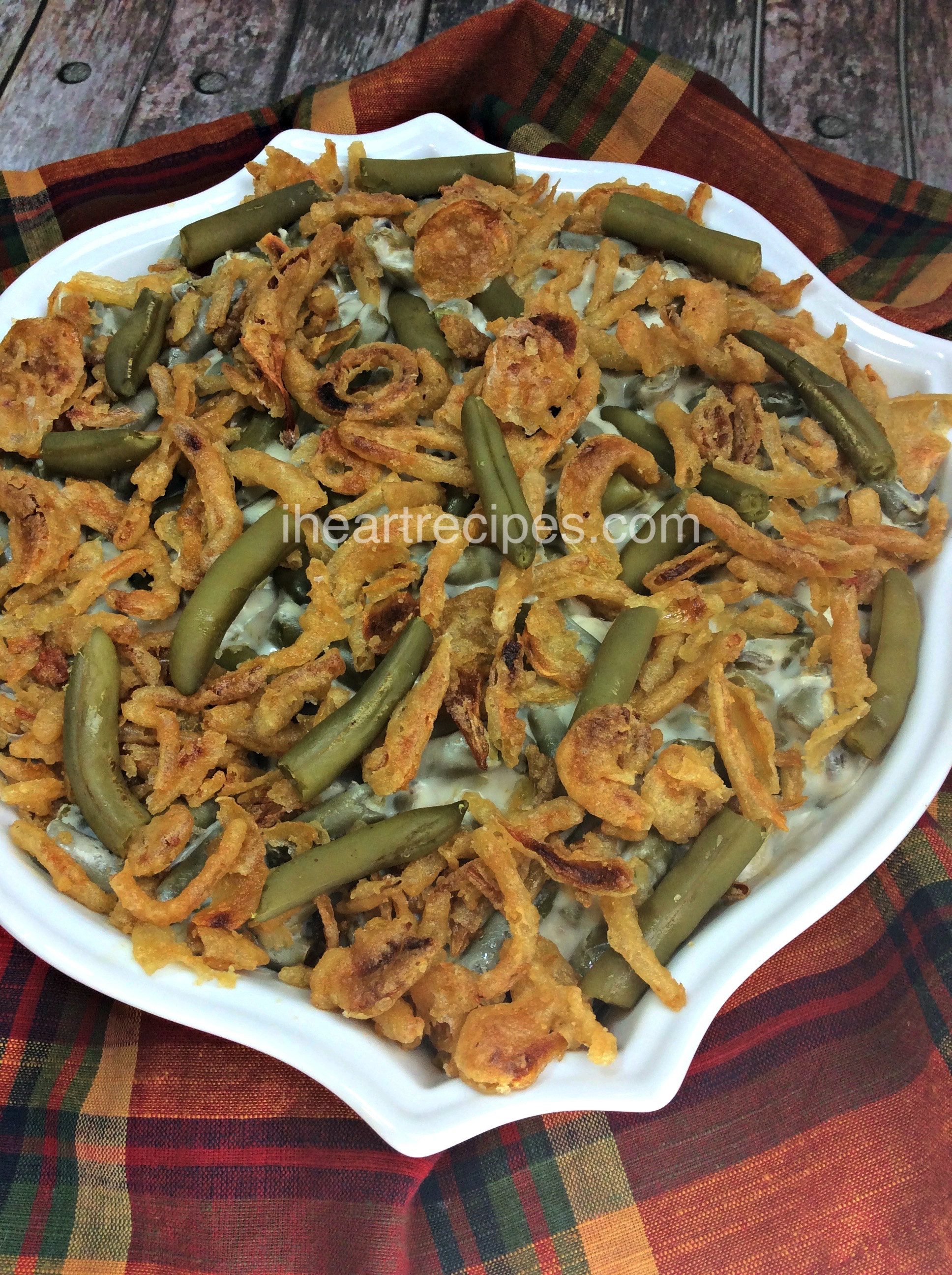 Green Bean Casserole With Canned Green Beans  Green Bean Casserole