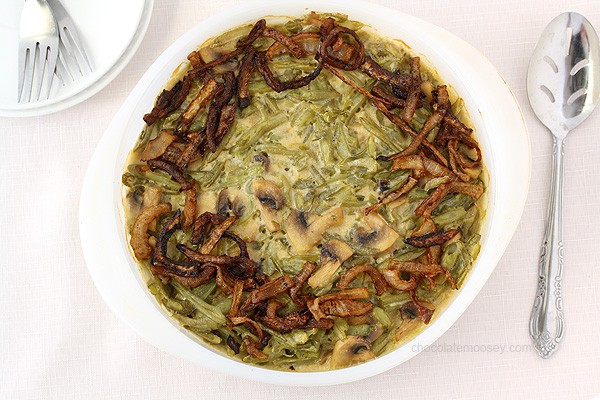 Green Bean Casserole With Canned Green Beans  Green Bean Casserole Without Canned Soup