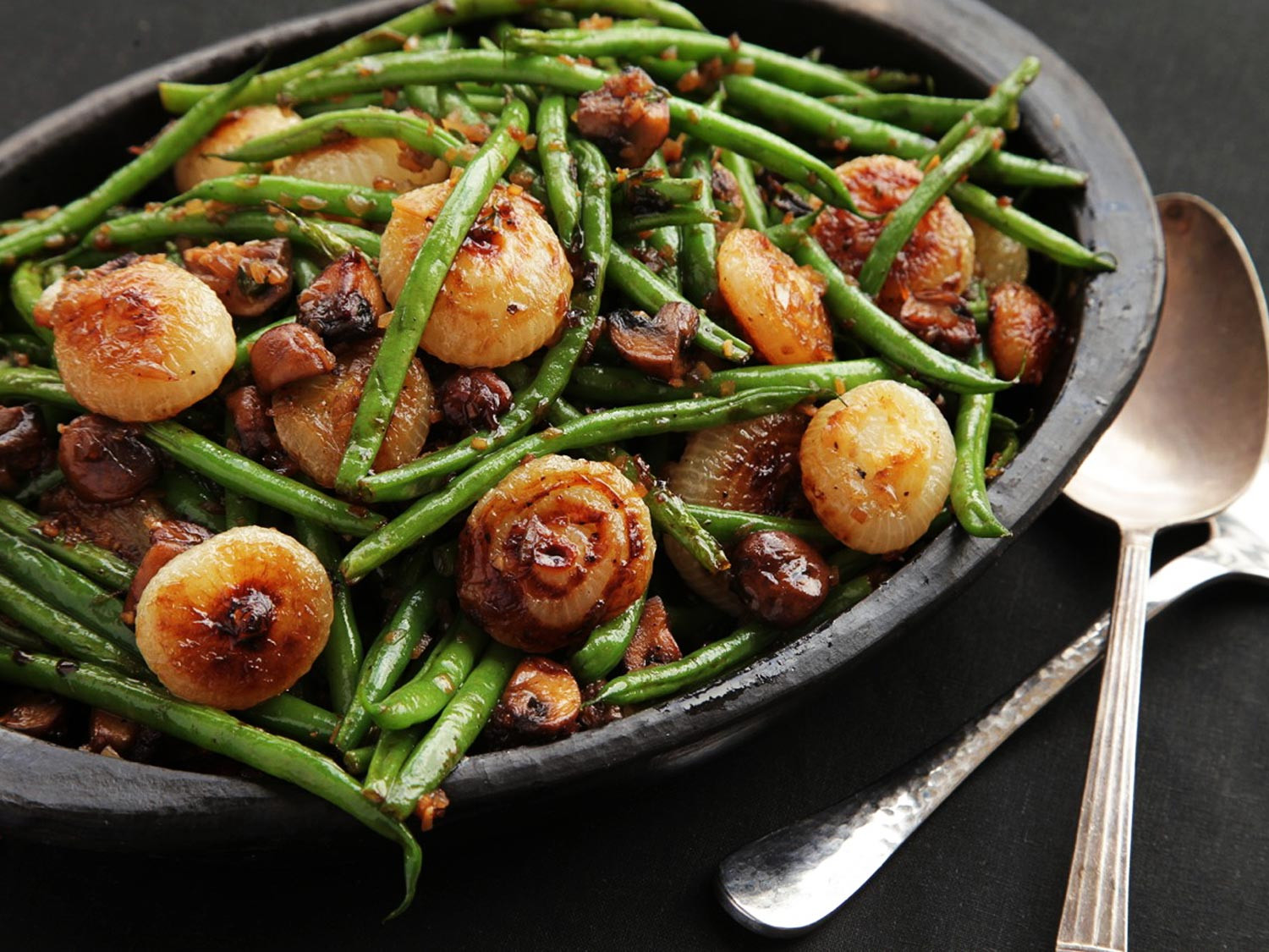 Green Bean Recipes  The Food Lab Sautéed Green Beans With Mushrooms and