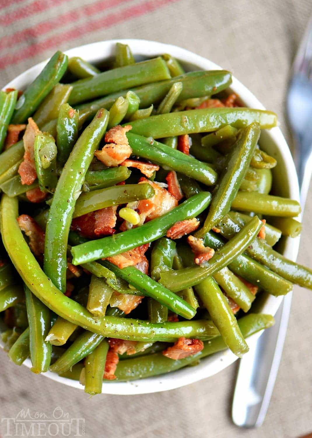 Green Bean Recipes  Nana s Famous Green Beans Mom Timeout