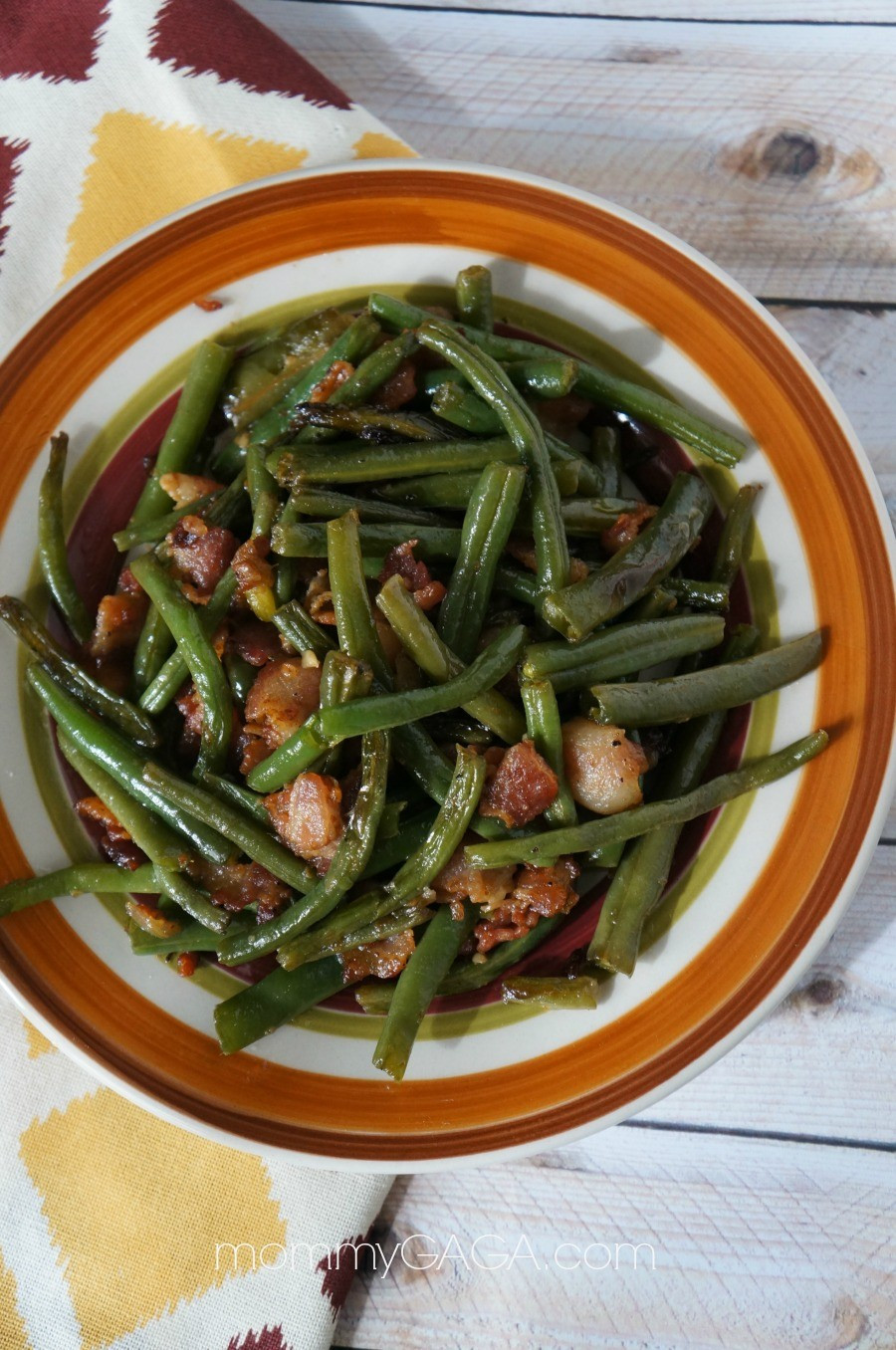 Green Bean Side Dish  Bacon Green Bean Side Dish A Quick Must Try Thanksgiving