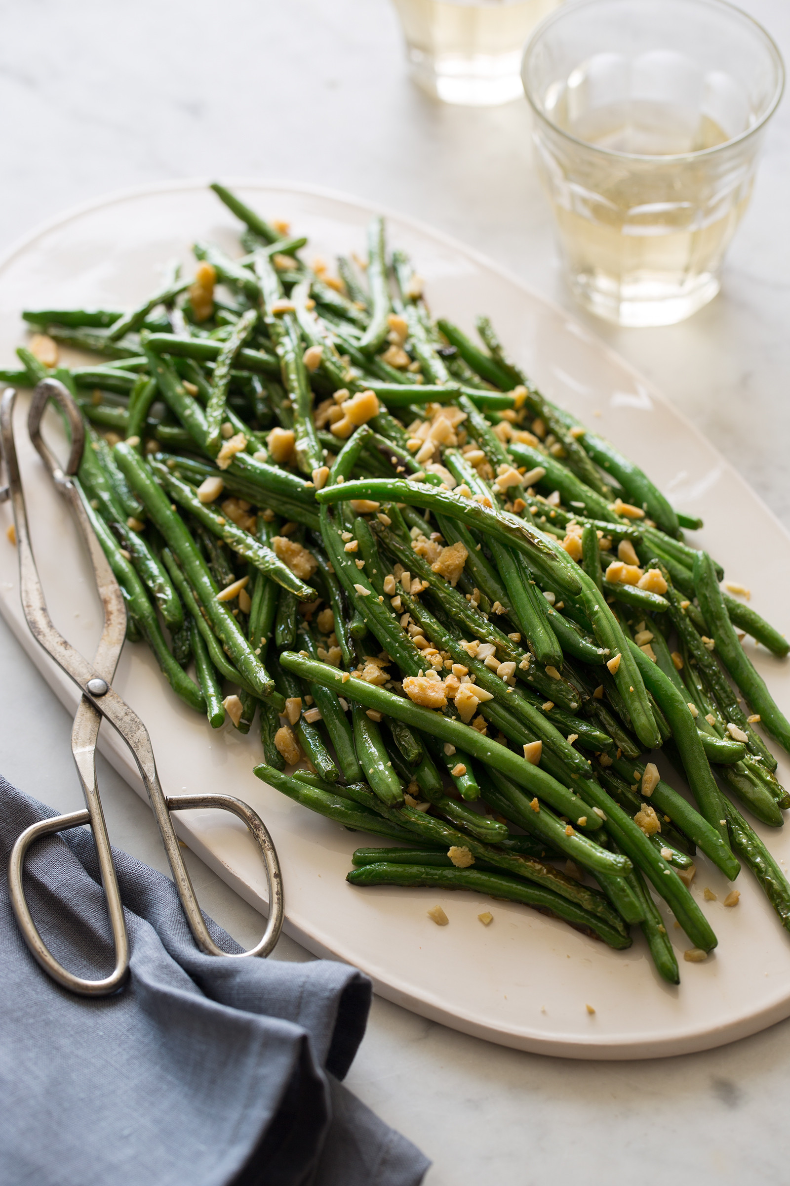 Green Bean Side Dish  Lightly Roasted Green Beans Side dish recipe