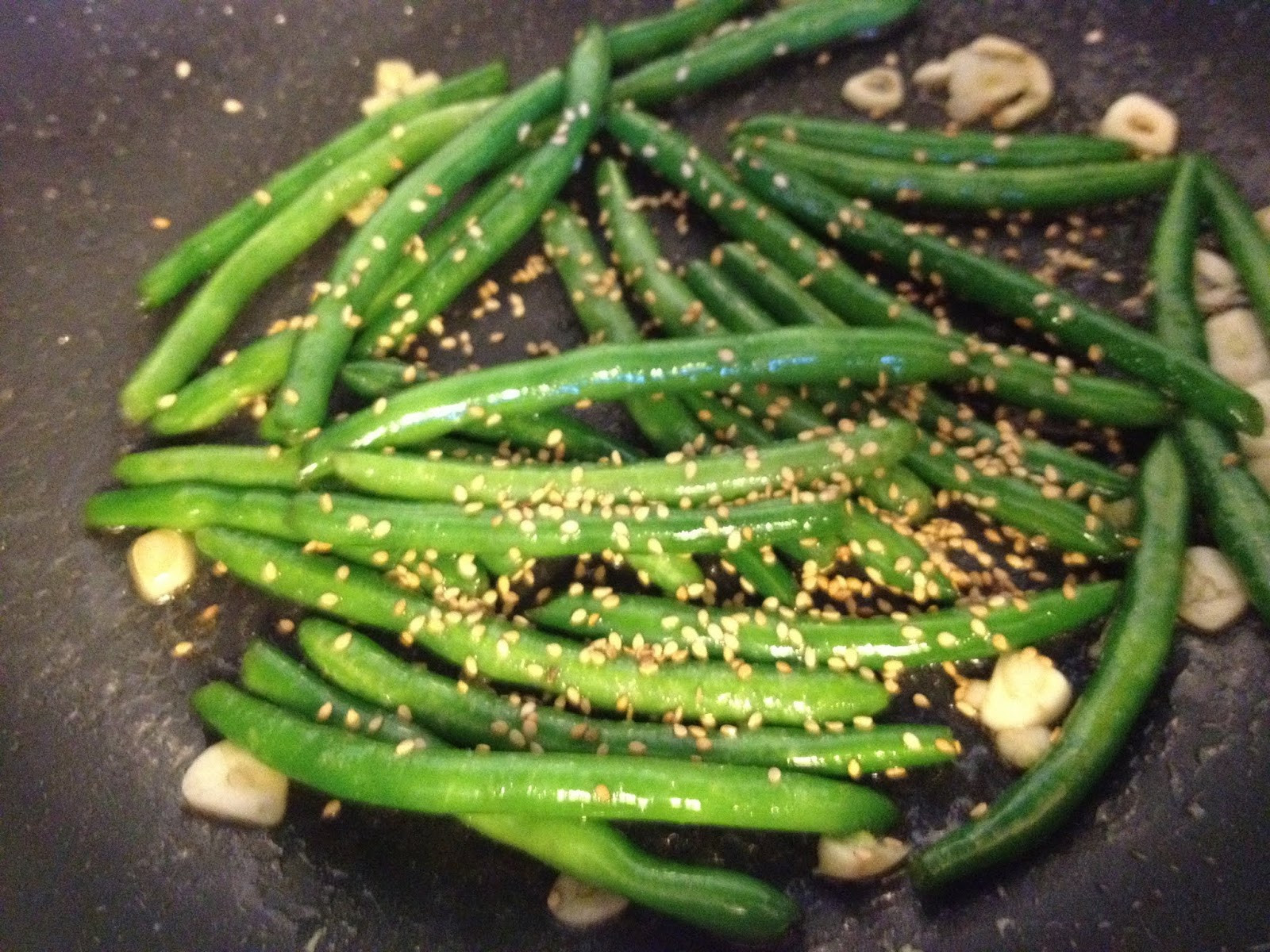 Green Bean Side Dish  Korean Style Green Bean Side Dish