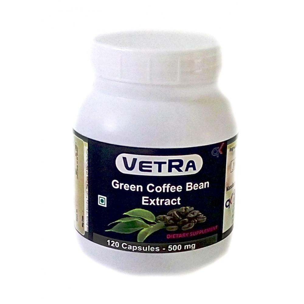 Green Coffee Bean Extract  Buy Vetra Green Coffee Bean Extract Capsules 500 Mg