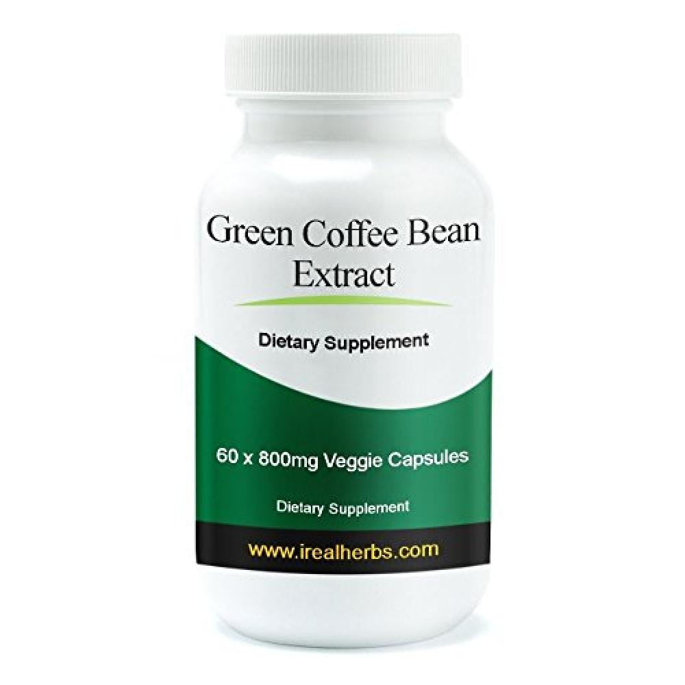 Green Coffee Bean Extract  Buy Real Herbs Green Coffee Bean Extract Supplement 60 X