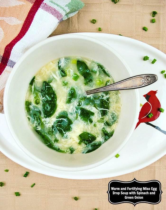 Green Onion Soup  how to make green onion soup