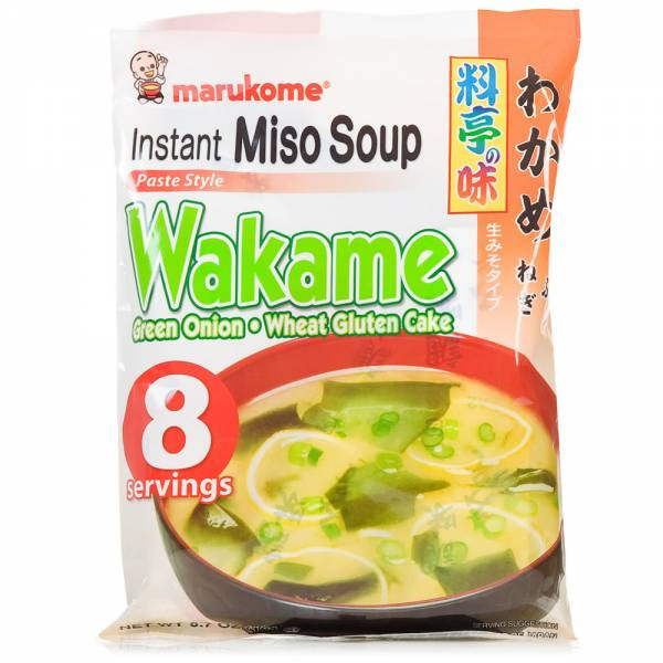 Green Onion Soup  Miso Soup with Seaweed and Green ion