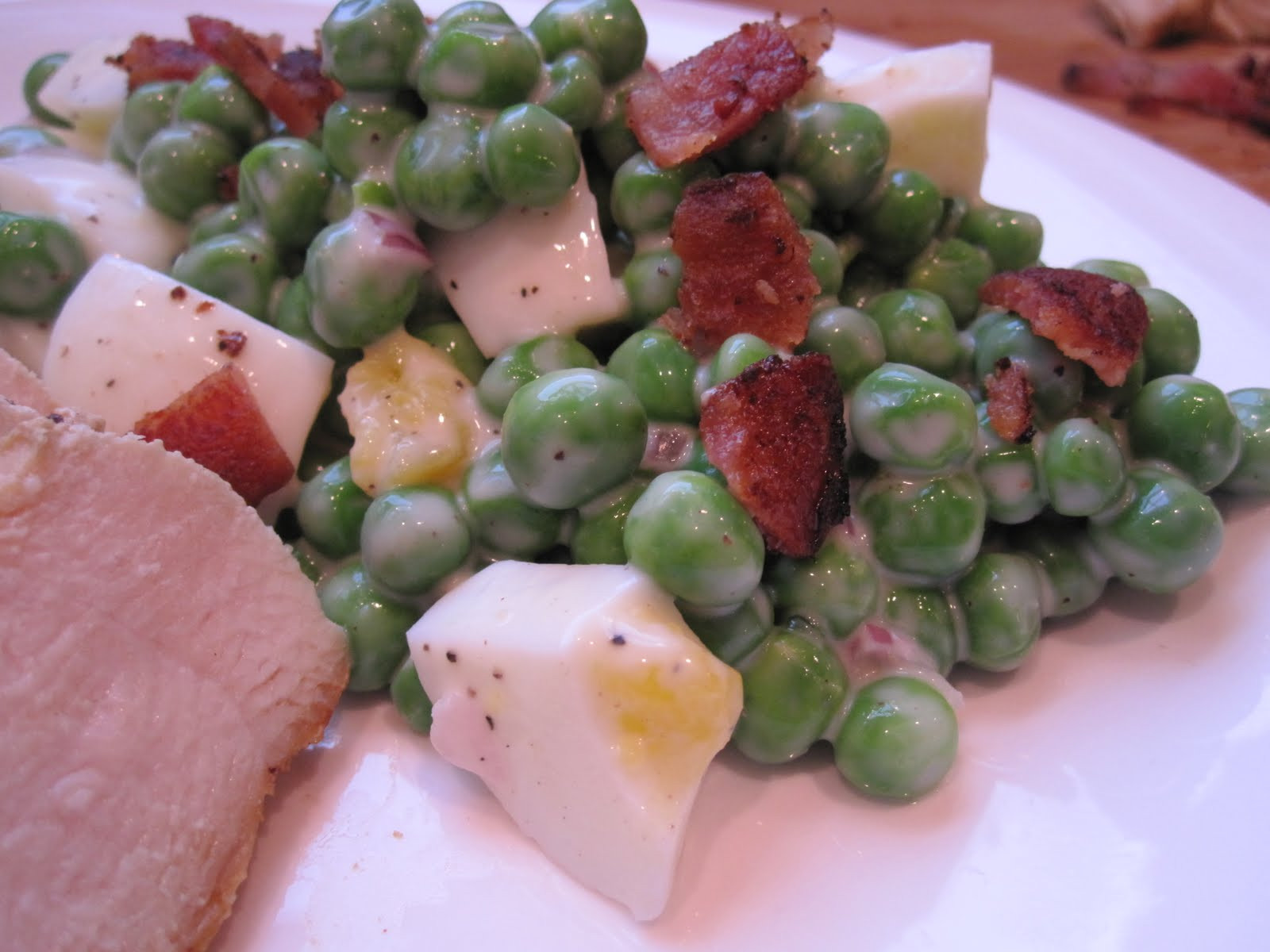 Green Pea Salad  Stirring the Pot Green Pea Salad