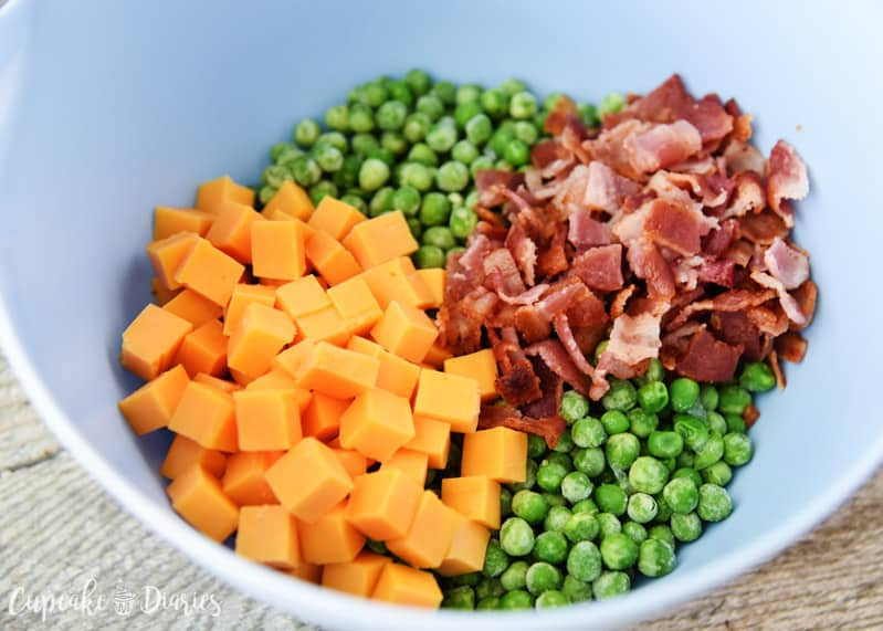 Green Pea Salad  Green Pea Salad