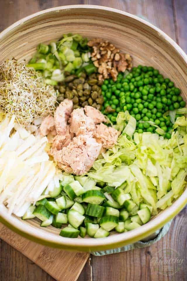 Green Pea Salad  green pea salad recipe