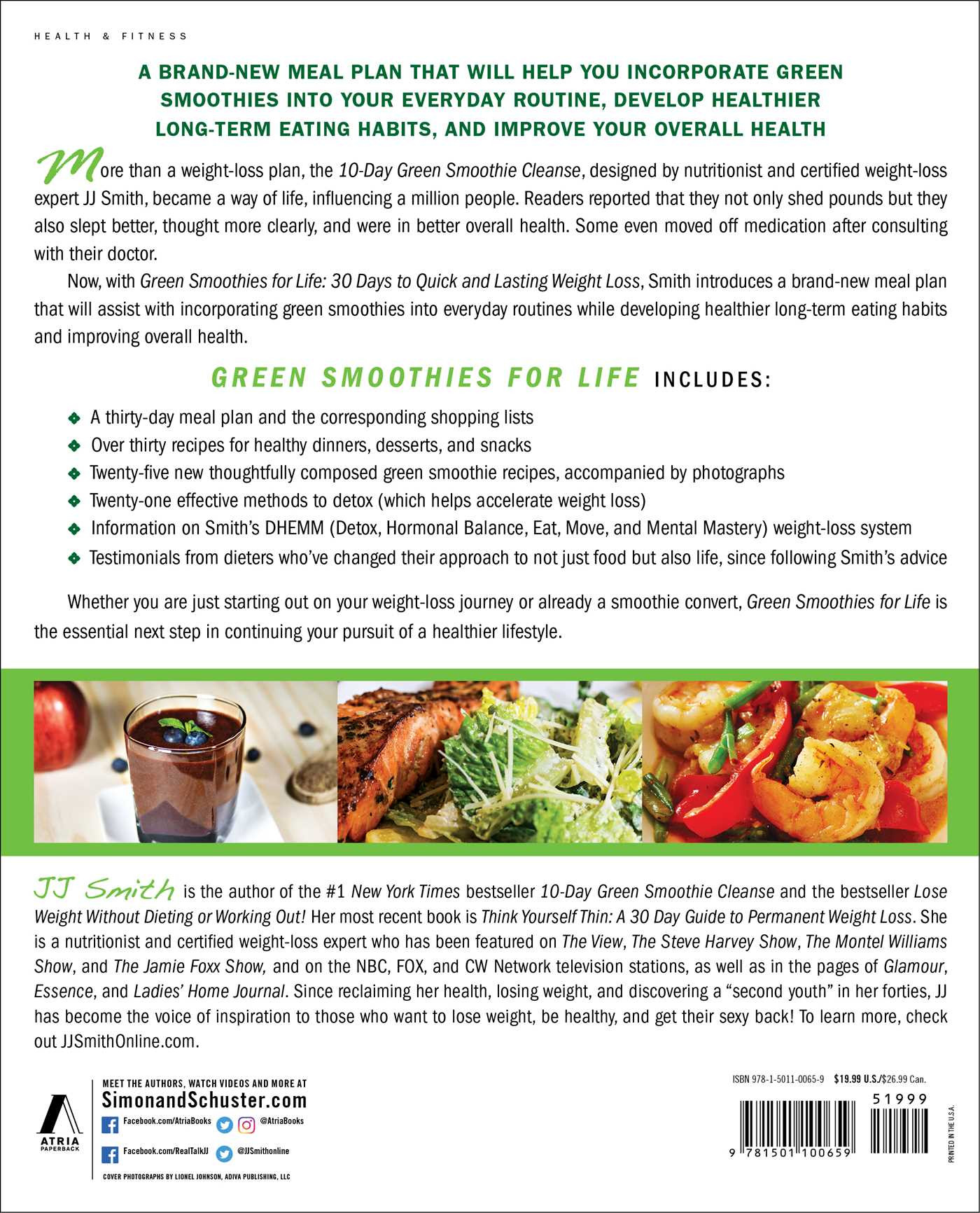 Green Smoothies For Life  Green Smoothies for Life Book by JJ Smith