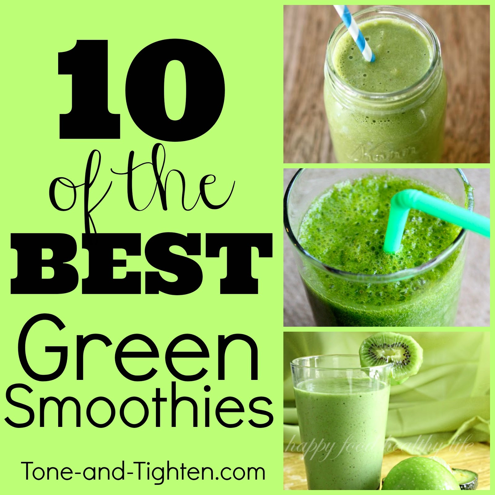 Green Smoothies Recipes  10 of the Best Green Smoothie Recipes