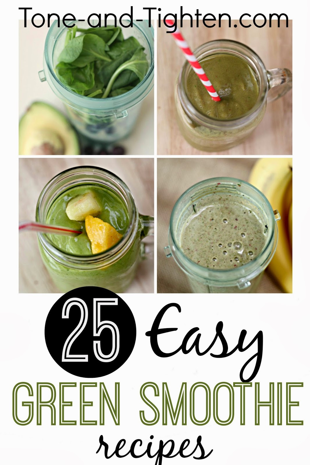 Green Smoothies Recipes  10 QUICK Healthy Breakfast Recipes