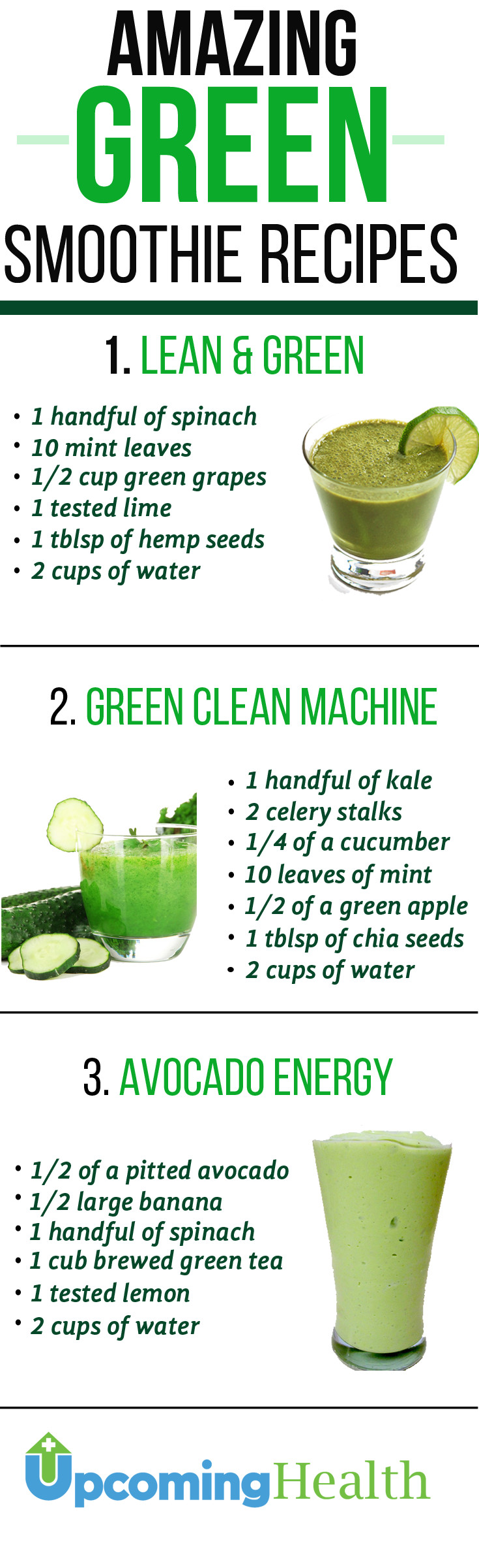 Green Smoothies Recipes  Green Smoothies Will Revolutionize Your Health
