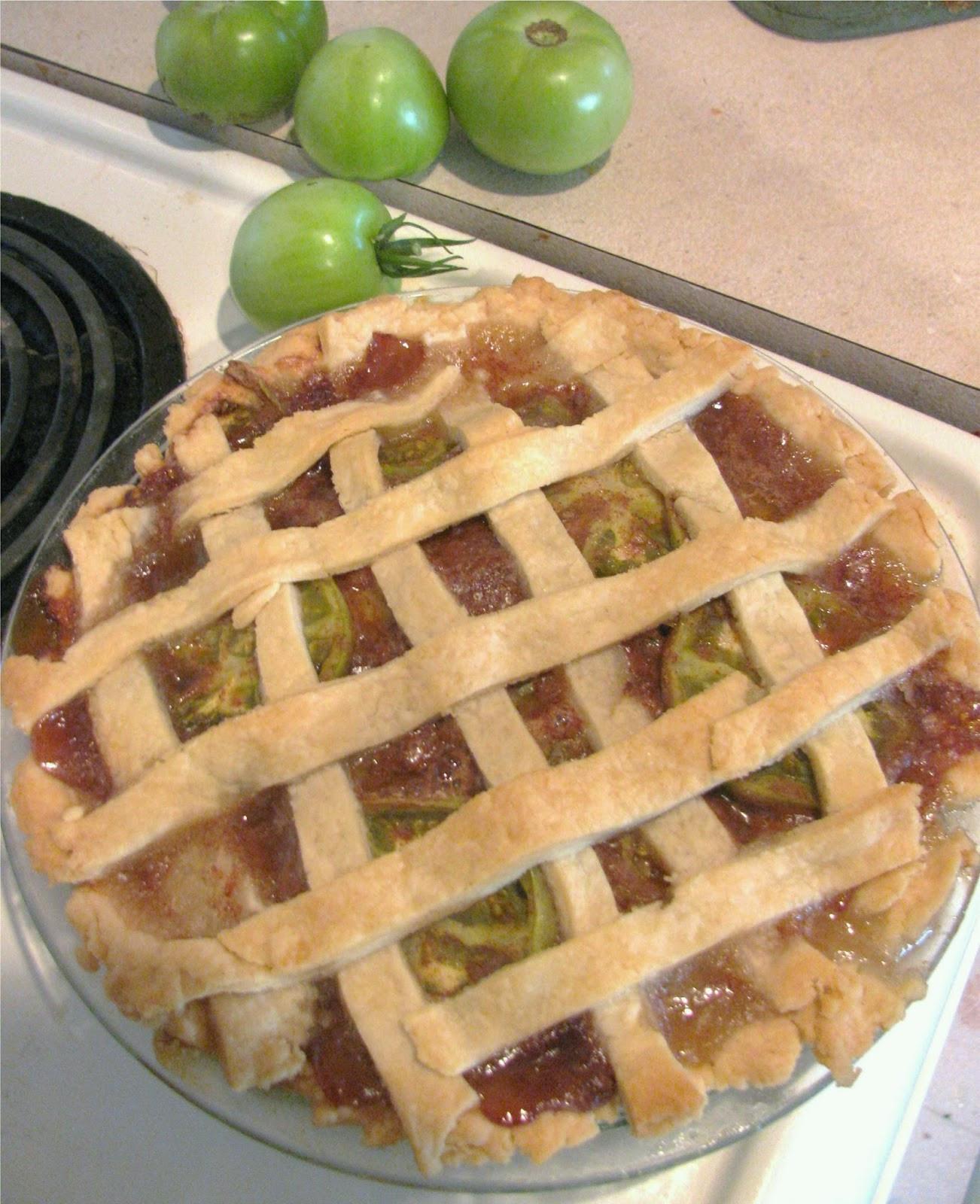 Green Tomato Pie  Green Tomato Pie Recipe